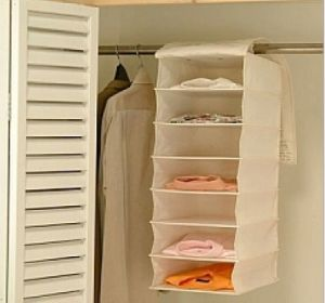 Compartment Hanger Organizer Cloth Storage Hanger Organizer