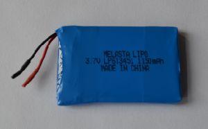 1150mAh 3.7V 4.255wh Li-Polymer Battery for GPS Device