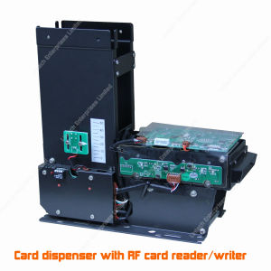 Parking Lot Card Dispenser with RFID Reader/Writer