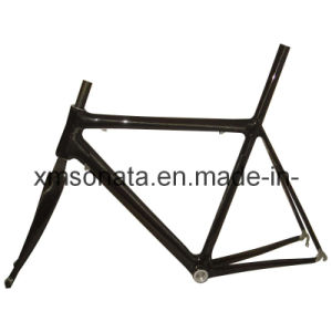 Carbon Fiber Bicycle Parts 580mm Carbon Frame for Racing Bike