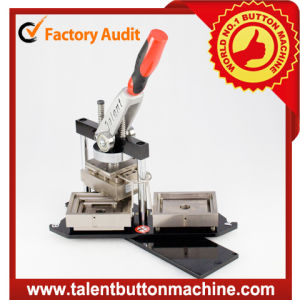 Rectangle Shape Fridge Magnet Button Badge Making Machine (SDHP-N45478) pictures & photos