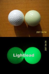 Whloesale Hot Selling Luminescent Golf Ball in Top Quality and Low Price Can Add Your Logo