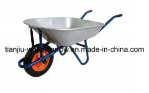 High Quality Garden Galvanized Tray Wheelbarrow Wb7200 pictures & photos