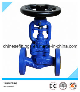 DIN Bellow Ductile Iron Flange Globe Valve pictures & photos