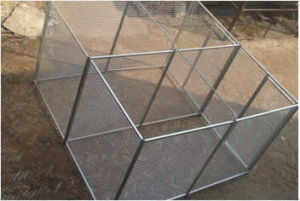 Galvanized Fencing Dog Cage Used All Kinds of Animals