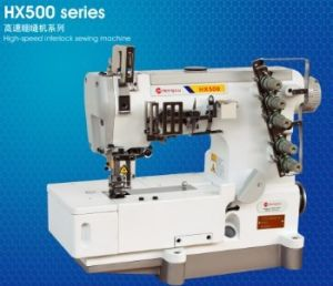 High-Speed Interlock Industrial Sewing Machine (HX-500 Series)