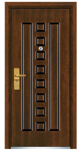 Steel Wooden Door (FXGM-C312) pictures & photos