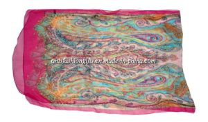 2014 Latest Chiffon Scarf for Women (Ants-S1361)