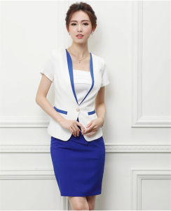 2016 Fashion Las Office Suit For Summer With Skirt
