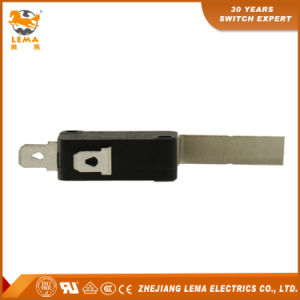 Factory Price Lema Kw7-9I2 Long Bent Lever Micro Switch 16A 250VAC pictures & photos