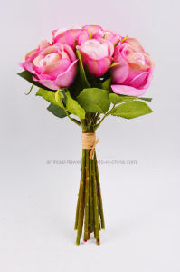 Colorful Artificial Rose Bouquet Flower