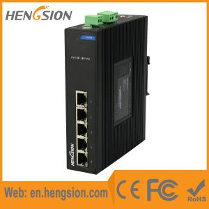 5 Megabit Port RJ45 Industrial Ethernet Network Switch