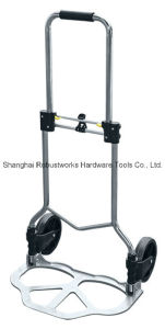 Foldable Chrome-Plated Steel Hand Truck (HT121A-1) pictures & photos