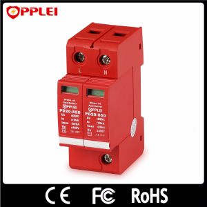 High Quality Single Phase 85VDC Power Lightning Protection Surge Arrester pictures & photos