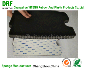 PU Foam with PU Leather with 3m Adhesive Polyurethane Foam pictures & photos