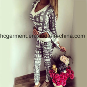 2017 Printing Sports Suit for Woman, Gyming Clothing