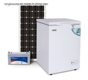 off Grid 100% Solar Powered DC 12V 24V Chest Freezer 93L pictures & photos