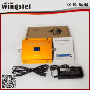 New Design Dcs/WCDMA 1800/2100MHz 3G 4G Mobile Signal Booster pictures & photos