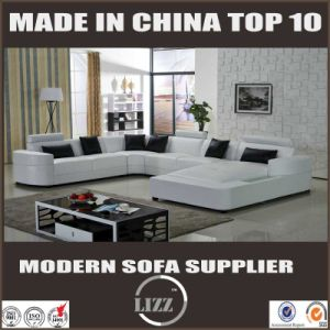 White Color Germany Design U Shape Corner Sofa pictures & photos