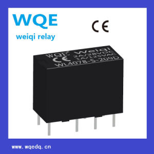 Miniature Size Double-Row Communication Reed Relay (WL4078) for Household Appliances &Industrial Use pictures & photos