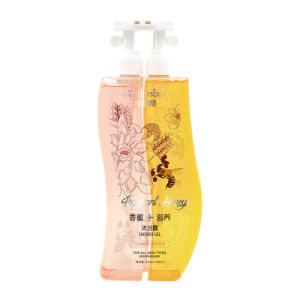 Dulenbe Body Care Honey & Nourishing Shower Gel 480ml+480ml pictures & photos