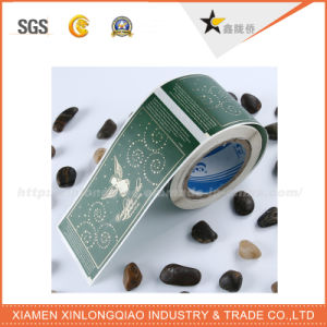Customized Service Barcode Print Self-Adhesive Paper Label Printing Sticker pictures & photos