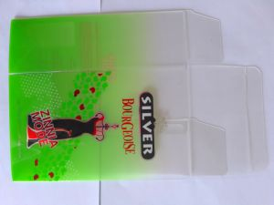 Offset & silk screen printing hot stamping frosted effect soft crease auto bottom lock PET packaging pictures & photos
