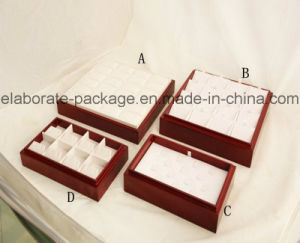 Common Jewelry Tray Fit for Small Jewellry Glossy Finish Wooden Tray pictures & photos