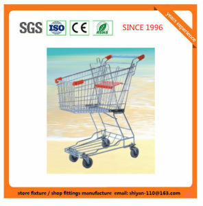 Shopping Supermarket Retail Trolley Carts 9278