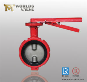 Industrial Use Wafer Type Butterfly Valve