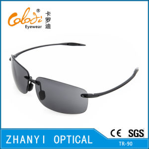 Fashion Tr90 Sunglasses for Driving with Nylon Lense (S2082-C1)