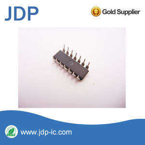 Nand Gate IC 4 Channel 14-Pdip CD4093be pictures & photos