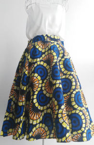 Maxi Skirts Wholesale African Cotton Ankara Wax Printing Skirts pictures & photos