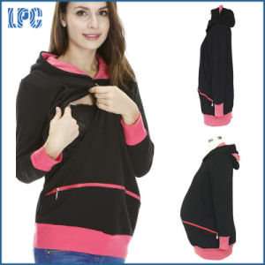 Cute Women Maternity Fleece Hoody pictures & photos