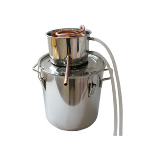 18L 5gal Stainless Steel Home Grappa Distiller Basic Kit