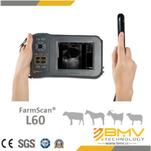 CE Mark (FarmScan L60) Portable Veterinary Ultrasound Scanner pictures & photos