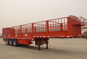 11.5m 3axles Stake Semi-Trailer with Gooseneck