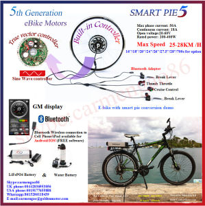 36V 250W Smart Pie 5 Electric Bicycle Front Motor /Ebike Motor /Electric Bike Kit pictures & photos