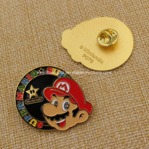 Custom Soft Enamel Super Mario Pin Badge pictures & photos