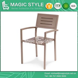 Aluminum Patio Chair Outdoor Stackable Chair (MAGIC STYLE) pictures & photos
