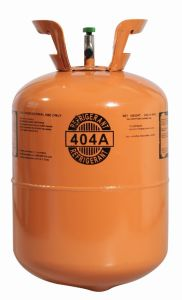 R404A Refrigerant Gas Industrial Mixture ISO-Tank for Refrigeration