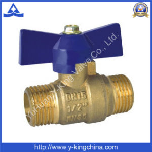 Brass Ball Valve with Male Ends (YD-1028) pictures & photos
