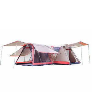 225 & B2b Manufacturer 10+ Person Large Family Group Tents for Camping Outdoor Polyester Double Layer