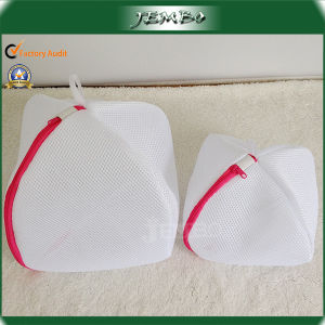 Hot Sell Polyester Solid Mesh Laundry Bag for Underware pictures & photos