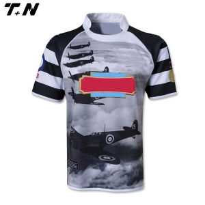 2016 Fashion Wholesale Fully Sublimated Rugby Shirt