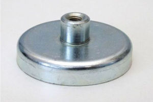 Zinc Coated Neodymium NdFeB Pot Magnet with CE/SGS