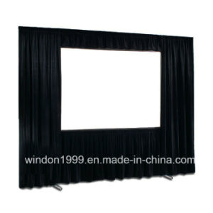Fast Folding Projection Screen with Draper Kits pictures & photos