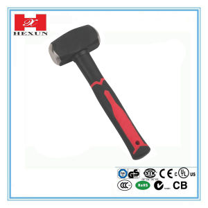 Fibre Glass Handle High Carbon Steel Forged Steel Hammer