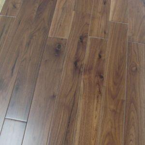 China Popular Design Wide Plank American Walnut Hardwood Flooring