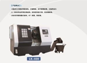 High Precision CNC Slant Bed Metal Turning Machine (lk030) pictures & photos